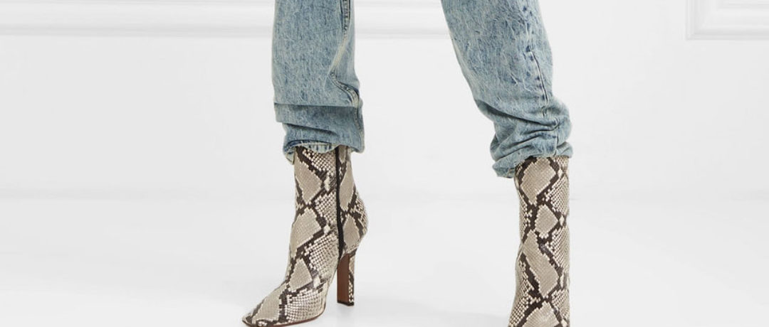 Snake booties you need 2019