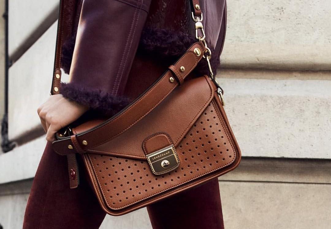 londchamp mademoiselle leather bag purse luxury item buy
